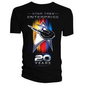 [Star Trek: Enterprise: T-Shirt: 20th Anniversary (Product Image)]