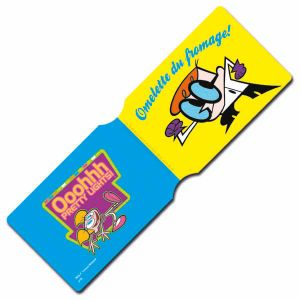 [Dexter's Lab: Travel Pass Holder: Omelette Du Fromage (Product Image)]