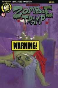 [Zombie Tramp: Ongoing #82 (Cover D Andrew Herman Risque) (Product Image)]