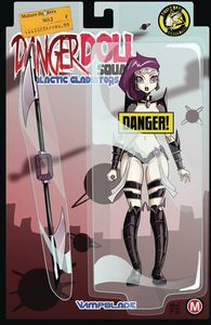 [Danger Doll Squad: Galactic Gladiators #3 (Cover F Mendoza Risque) (Product Image)]