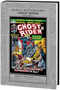 [Marvel Masterworks: Ghost Rider: Volume 1 (Hardcover) (Product Image)]