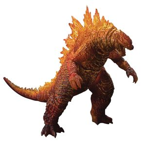 [Godzilla: King Of The Monsters: MonsterArts Action Figure: Burning Godzilla (Product Image)]