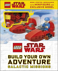 [LEGO: Star Wars: Build Your Own Adventure (Hardcover) (Product Image)]