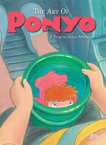 [The Art Of Ponyo: On The Cliff By The Sea (Hardcover) (Product Image)]