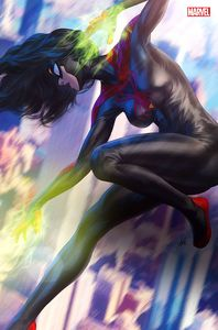[Spider-Woman #5 (Artgerm Black Costume Virgin Variant) (Product Image)]
