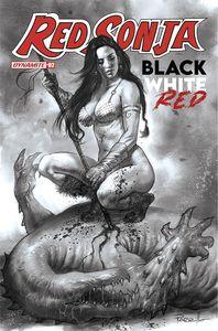 [Red Sonja: Black White Red #2 (Cover J Parrillo Black & White Variant) (Product Image)]