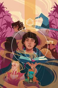 [Stranger Things: D&D Crossover #4 (Cover D Beck) (Product Image)]