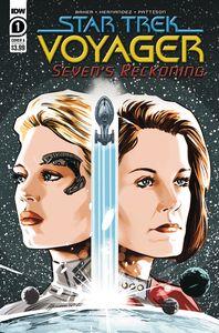 [Star Trek: Voyager: Sevens Reckoning #1 (Cover A Hernande) (Product Image)]