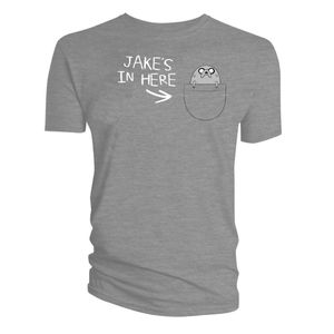 [Adventure Time: T-Shirt: Jake's In Here (Product Image)]
