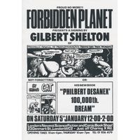 [Gilbert Shelton signing Philbert Desanex 100,000th Dream (Product Image)]