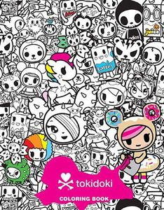 [Tokidoki Colouring Book (Product Image)]