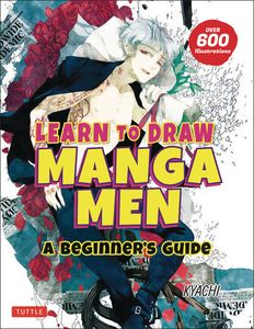 [Learn To Draw Manga Men: A Beginner's Guide (Product Image)]