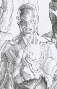 [Marauders #13 (Alex Ross Iceman Timeless Virgin Sketch Variant) (Product Image)]