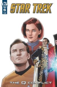 [Star Trek: Q Conflict #6 (Cover A Messina) (Product Image)]