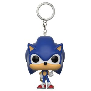 [Sonic The Hedgehog: Pop! Vinyl Keychain: Sonic With Ring (Product Image)]