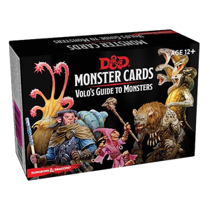 [Dungeons & Dragons: Spellbook Cards: Volo's Guide To Monsters (Product Image)]