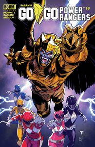 [Go Go Power Rangers #18 (Main & Mix) (Product Image)]