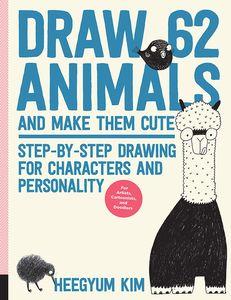 [Draw 62 Animals & Make Them Cute (Product Image)]