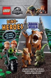 [LEGO: Jurassic World: Dino Heroes (With Bonus Story Owen To The Rescue) (Hardcover) (Product Image)]