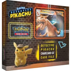 [Pokemon: Detective Pikachu: Trading Card Game: GX Case FIle: Charizard (Product Image)]
