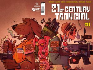 [21st Century Tank Girl #1 (Forbidden Planet Variant) (Product Image)]