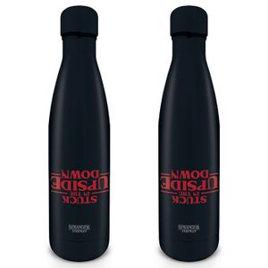 [Stranger Things: Metal Drinks Bottle: Stuck In The Upside Down (Product Image)]