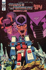 [Transformers: 84 Secrets & Lies #3 (Roche Variant) (Product Image)]