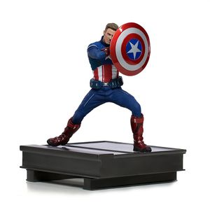 [Avengers: Endgame: Art Scale Statue: Captain America (2023) (Product Image)]