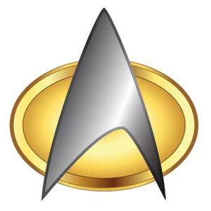 [Star Trek: The Next Generation: Communicator Badge (Product Image)]