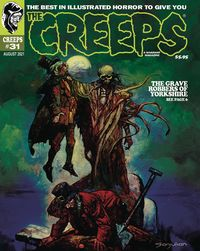 [The cover for Creeps #31]