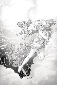 [Mirka Andolfos Unsacred Volume 2 #4 (Ferrari Pencil Art Variant) (Product Image)]