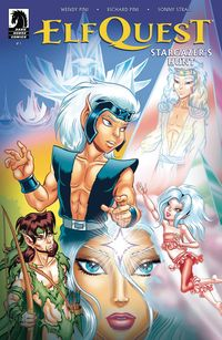 [The cover for Elfquest: Stargazers Hunt #1]