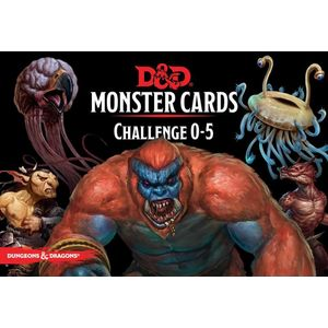 [Dungeons & Dragons: Monster Cards: Challenge 0-5 (Product Image)]
