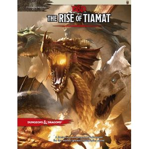 [Dungeons & Dragons: Tyranny Of Dragons: Adventure: The Rise Of Tiamat (Hardcover) (Product Image)]