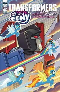 [My Little Pony/Transformers II #2 (Cover A Tony Fleecs) (Product Image)]