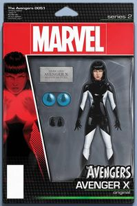 [Avengers #5.1 (Christopher Action Figure Variant) (Product Image)]