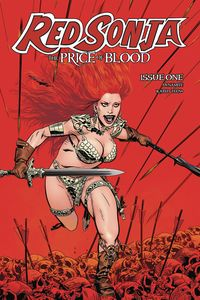 [Red Sonja: Price Of Blood #1 (Cover B Golden) (Product Image)]