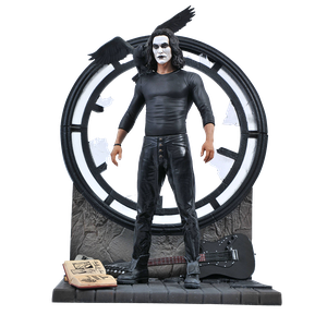 [The Crow: Movie Gallery PVC Statue: Eric Draven (Product Image)]