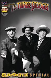 [Three Stooges: Slaptastic Special #1 (Limited Edition Black & White Phot) (Product Image)]