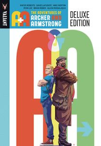 [A&A: Adventurtes Of Archer & Armstrong: (Deluxe Edition - Hardcover) (Product Image)]