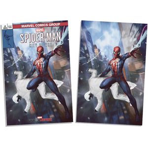 [Spider-Man: City At War #1 (Forbidden Planet Exclusive Skan Variant Set) (Product Image)]