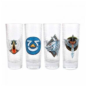 [Warhammer: 4 Mini Glasses: Chapter (Product Image)]