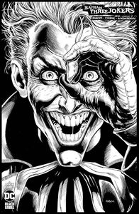 [Batman: Three Jokers #3 (Jason Fabok Black & White Variant) (Product Image)]