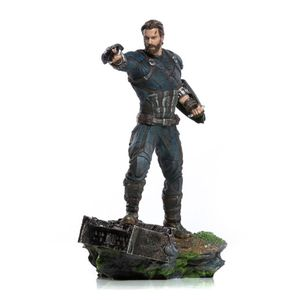 [Avengers: Infinity War: Captain America: Art Scale Statue (Product Image)]