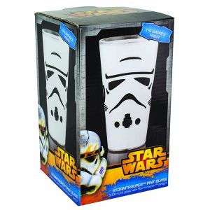 [Star Wars: Pint Glass: Storm Trooper (Product Image)]