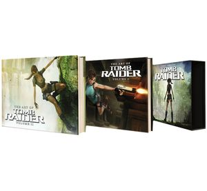 [The Art Of Tomb Raider Box Set (Hardcover) (Product Image)]