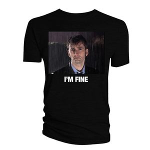 [Doctor Who: The Meme Collection T-Shirt: I'm Fine (Product Image)]