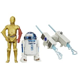 [Star Wars: The Force Awakens: Wave 1 Action Figure 2 Packs: R2-D2 & C-3PO (Product Image)]