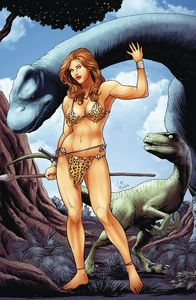 [Cavewoman: Target Ankha: One Shot (Cover F Carlos Rafael Cover) (Product Image)]