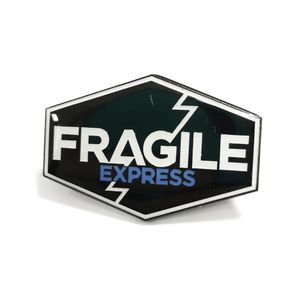 [Death Stranding: Enamel Pin Badge: Fragile Express (Product Image)]